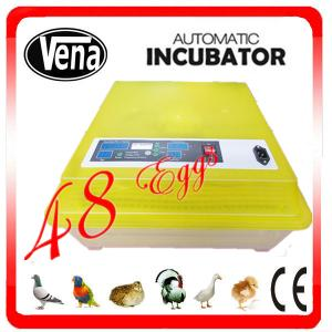 China Top selling chicken egg incubator VA-48II incubator controller make chicken egg incubator on sale