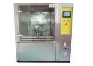 China Room Box Type Rain Environmental Test Chamber Rain Shower Water Pressure 50~300kpa on sale
