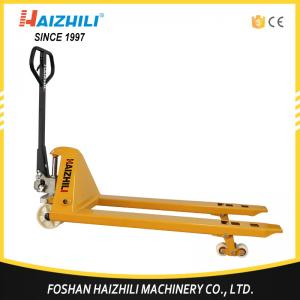 China China wholesale pallet jack 3 ton hydraulic hand pallet truck with 1 year warranty on sale