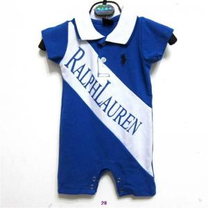 China New arrival hot sale 2014 Raulph Lauren designer baby's short cotton Clasp jumpsuits on sale