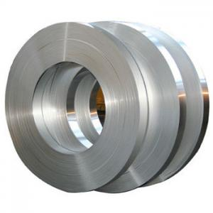 China Hot Rolled Flat Thin Aluminum Strips For Transformer / Auto Radiator on sale