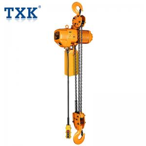 China Hook Suspension Electric Hoist 7.5 Ton With Electric Motor FEC80 Chain CE Certificate on sale