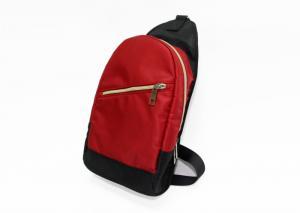 China Water Resistant Chest Washable Shoulder Bag Sport Messenger Bag For Men And Women on sale