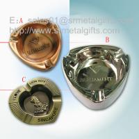 Metal advertising branded cigar ashtray for sale, die casted alloy souvenir ashtrays,