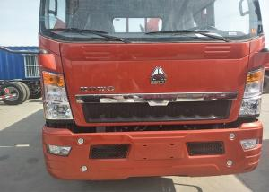 China Euro 2 6 Wheels Light Duty Trucks With 1880 Cab , Single Sleeper on sale