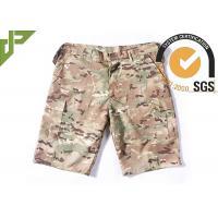 Summer Tactical Quick Dry Cargo Shorts , Cool Camo Cargo Shorts For Men