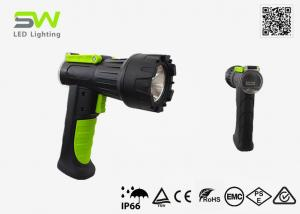 China 10W Rechargeable Pistol Grip Brightest Hunting Flashlight on sale
