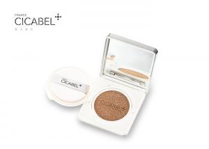 China Snail Cosmetic CC Air Cushion Cream / Color Control Makeup Foundation Waterproof on sale