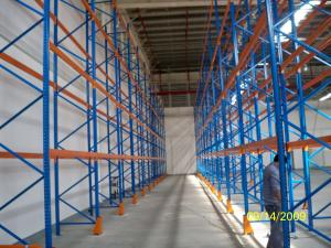 China Cold Rolled Steel Racking Pallet Rack Shelving , Industrail Storage Solutions on sale