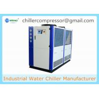 China 5HP 10HP 20HP 30HP R404A R410A Copeland Compressor Brewery Air Cooled Glycol Chiller on sale