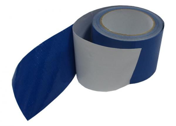 Custom Blue Polyethylene Tarp Repair Tape For Home Viscous