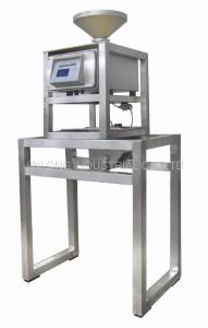 China free fall metal detector for powder product such as rice,flour, coffee product inspection supplier