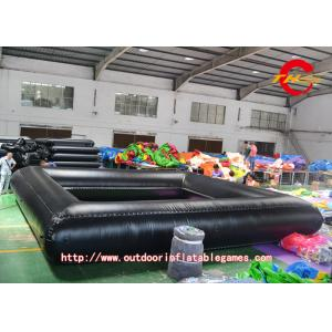 China Black PVC Inflatable Outdoor Projector Screen Flame Retardant on sale