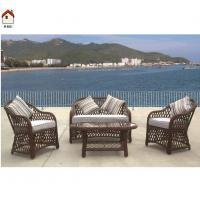 China rattan balcony sofa set used rattan sofa for sale RMS70148R on sale