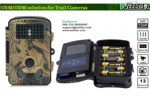 China Mini Waterproof Digital Scouting Camera 12MP 720P Video For Wild Scout on sale