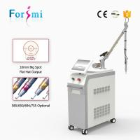 CE approved 2000W high power 4ns pigment eyebrow yag laser tattoo removal machine