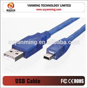 China mini 5pin usb cable male to male usb2.0 on sale