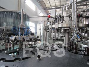 China 330ml - 2000ml Glass Bottle Brew Beer Filling Machine 1000BPH Including Vacuum Pump on sale