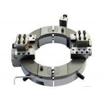 Split Frame Pneumatic Pipe Cutting Beveling Machine For Boiler Repairing Job