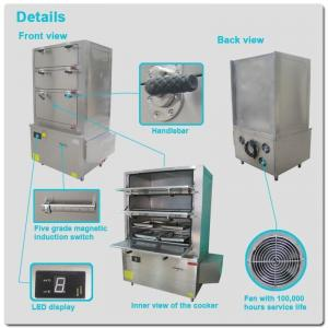 China Multi-functional food steamer machine with 25kw on sale