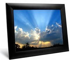 China 12 Inch SD Card Digital Wifi Picture Frame, MMC MS XD USB Digital Photo Player on sale