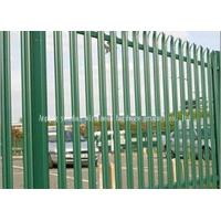 China Hot Dipped Galvanised Steel Security Fencing , Palisade Security Fence on sale