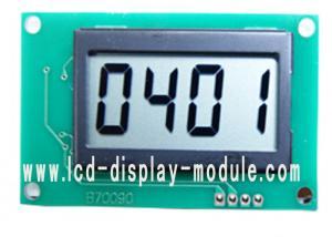 China caractère 4 avec le module d'affichage d'affichage à cristaux liquides de segment d'emplacement de la virgule 4 pour le mètre d'instrument on sale