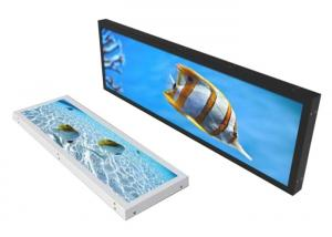 China Dustproof Extra Wide LCD Monitor , Stretched Bar LCD Display Pcap Foil Touch on sale