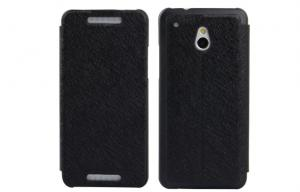 China Customized Leather HTC Phone Case Wallet Black HTC One Mini Phone Case Cover on sale