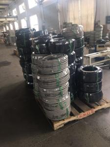 China AN4 AN6 AN8 AN10 AN12 Nylon wire/stainless steel braided oil cooler hose,an fiiting hose,ptfe oil cooling hose on sale