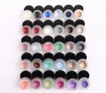 30 Colors Permanent Eye Makeup Eyeliner Smudge Proof Eyeliner Logo Custom