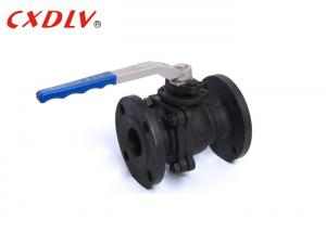 China DN150 WCB Stainless Steel Flanged  Ball Valve DIN RF Floating type PN16 PN40 on sale
