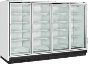 China Upright Glass Door Cooler, Mulit-deck Cooler with glass door, Energy-saving Glass Door Freezer on sale