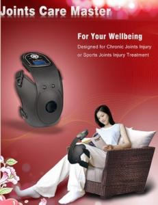China Medical Infrared Heating And Tens Knee Massager, Electronic Pulse Massager For Joints Care on sale