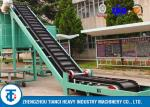 Food Factory Fertilizer Conveyor Belt Large Angle Sidewall Model ISO Approved