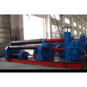 China Machine à cintrer 245Mpa symétrique mécanique de petit pain de plat de trois rouleaux on sale