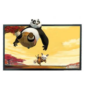 China 55 Inch Wall Mounted Glass Free 3D Display Android Compatible For Shopping Mall on sale