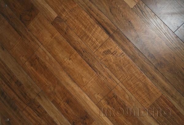 Kroundeno 12 Mm Hand Scraped Laminate Flooring For Sale Hand