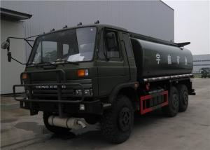 China Dongfeng Off Road Oil Transport Tanker Truck Trailer 6x6 245hp 15cbm Full Drive 10 Wheeler on sale