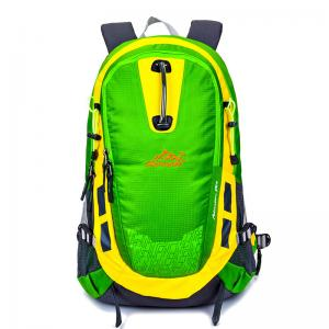 China Portable Colored Travel Backpack With Laptop Compartment Customized Hydration on sale