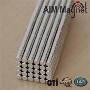 China rod magnets D4X8 neodymium on sale