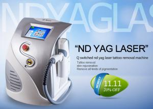 China Multifunctional Q Switched Nd Yag Laser Tattoo Removal Machine CE ISO13485 Approved on sale