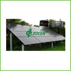 China 3KW DC Stand Alone Off Grid Solar Power Systems for fan / lighting 110V - 240V on sale