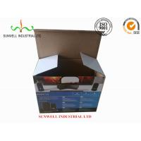 K9 Reinforced Electronics Product Packaging Boxes Spot UV Finished Varnish Film