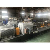 China Pet Twin Screw Extruder / Twin Screw Extrusion Machine 300 Kg Per Hour on sale
