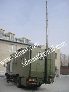 China Long range UHF fm radio antenna telescopic mast on sale
