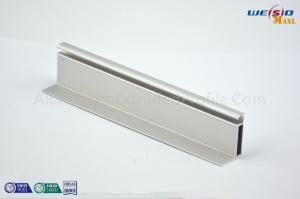 China Electrophoresis Aluminium Extruded Profile Silver Windows Frame Furniture on sale