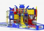 Double Slide Indoor Playground Equipment , Kai Qi Playground For Playing Games