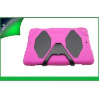 Cute Pink Hybrid Ipad Protective Cases , Dustproof Ipad Air Cover With Stand