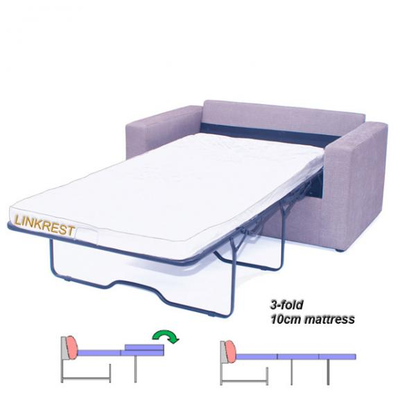 Thick mattress Tri fold sofa bed mechanisms TFN00 Series for sale